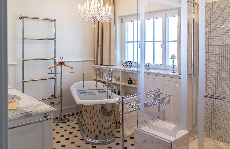Retrobad Traditionelle Bader Badezimmer Badezimmerideen