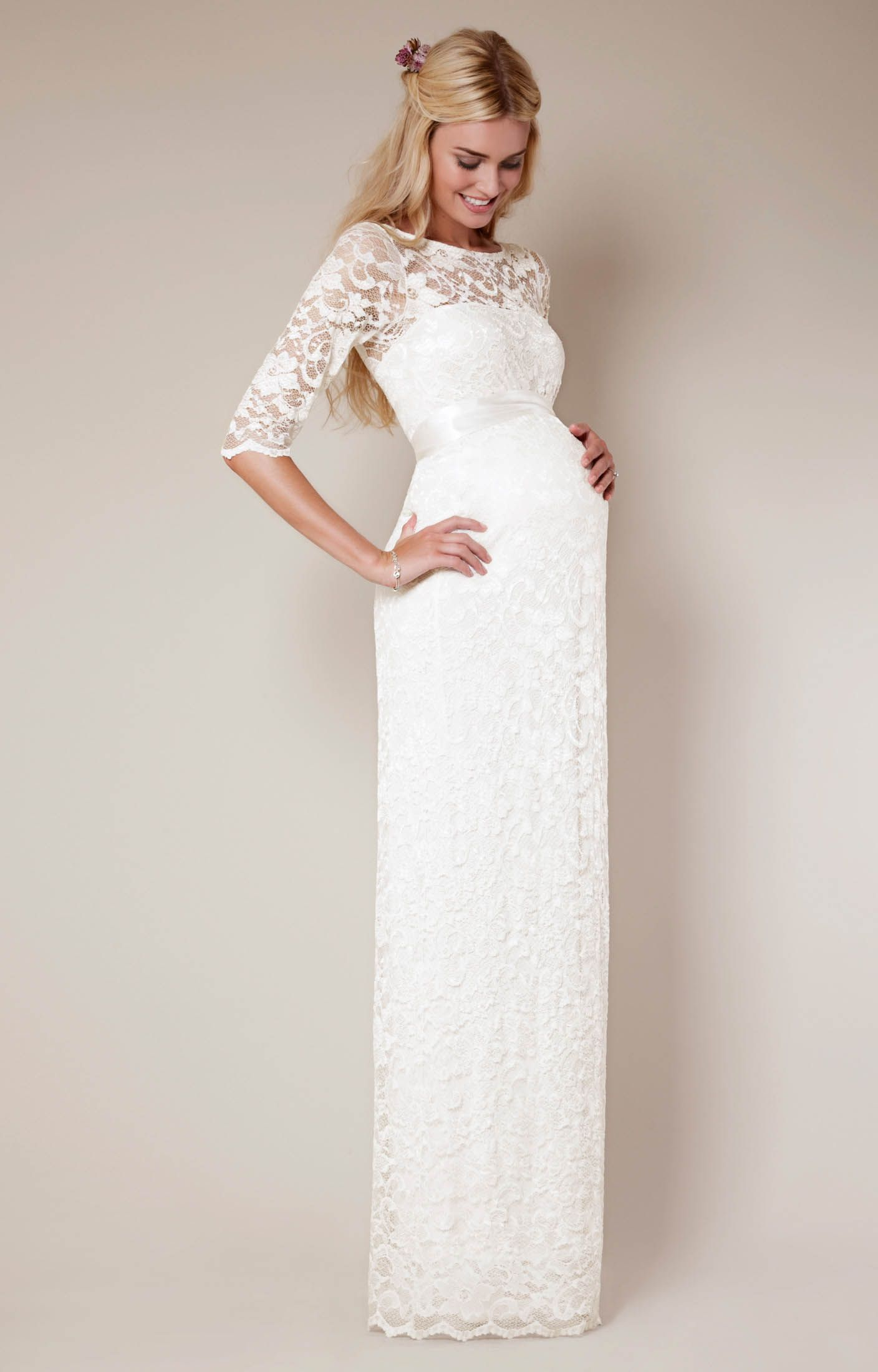 Amelia Dress Long | Amelia, Tiffany rose and Ivory