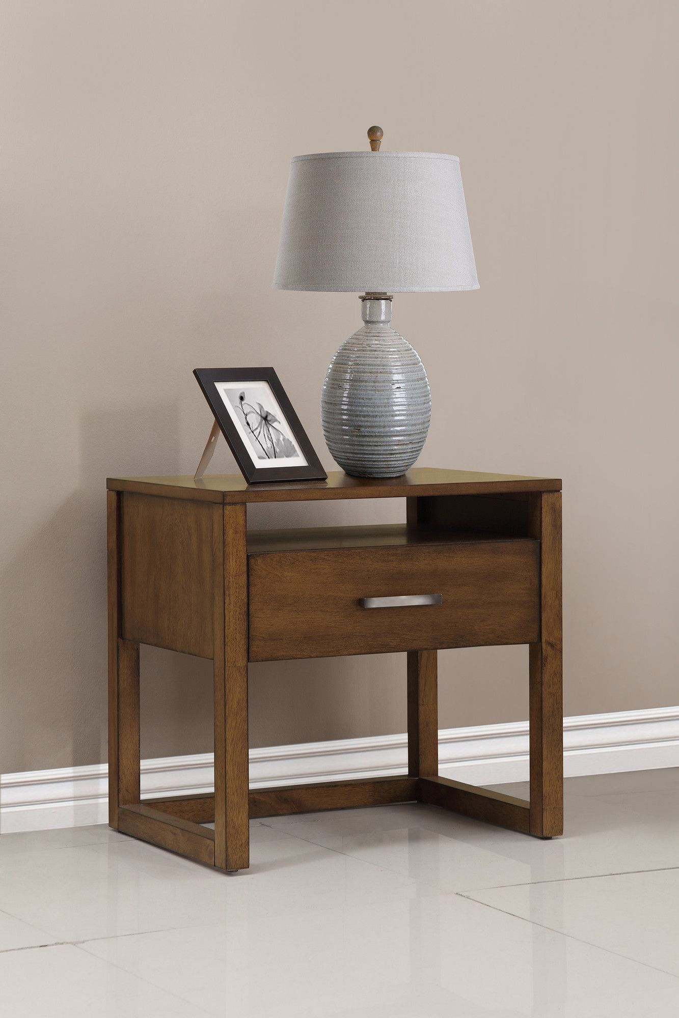 Best Domus Vita Design Brisbane 1 Drawer Nightstand Allmodern 400 x 300