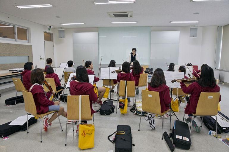 꿈의 오케스트라 합동공연을 위한 리허설 캠프 오케스트라