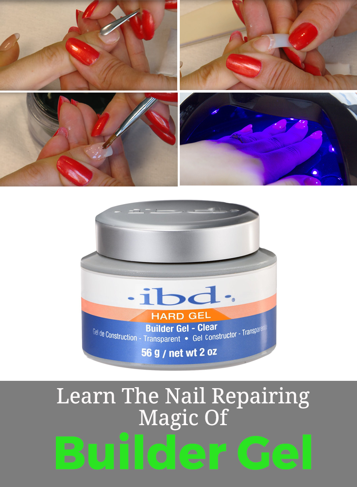 Uv Builder Gel Differs From Traditional Gel In That Its Viscosity Is Much Thicker And Heavier Making It Ideal For Gel Nails Diy Builder Gel Nails Gel Nail Kit