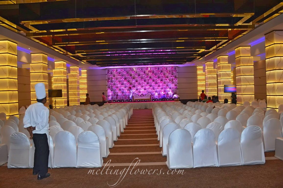 Radisson Blu Atria Banquet Halls In Bangalore Decorated For Wedding