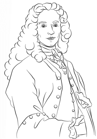 Voltaire Coloring page Mystery