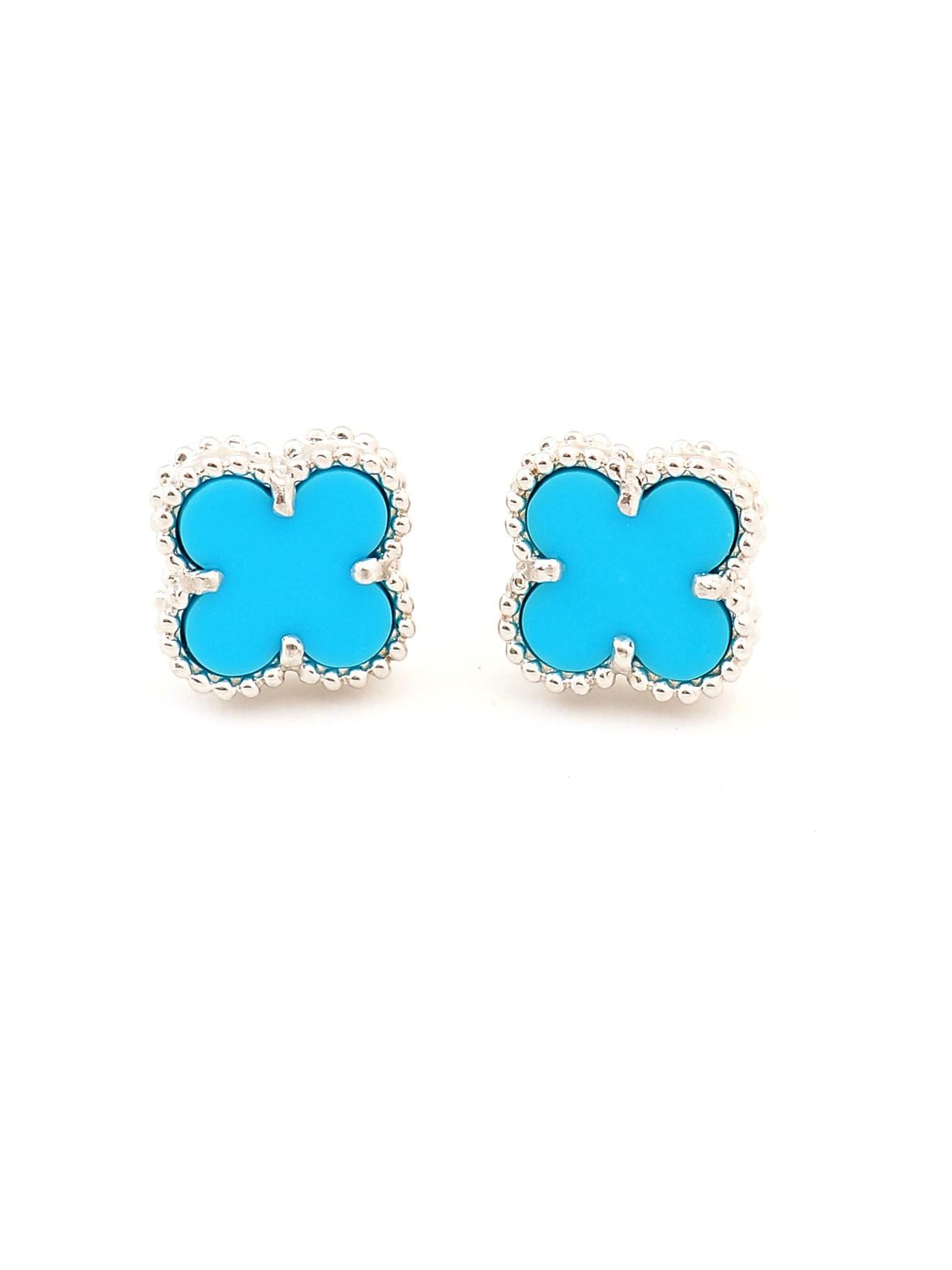 Jewelry Sets Frugal Fashion Jewelry Turquoise Colored Pierced Earrings Modern And Elegant In Fashion Jewelry & Watches