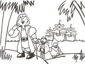 Imagenes Descubrimiento De America Para Ninos Nocturnar Cristobal Colon Para Ninos Dia De La Hispanidad Carabelas De Cristobal Colon
