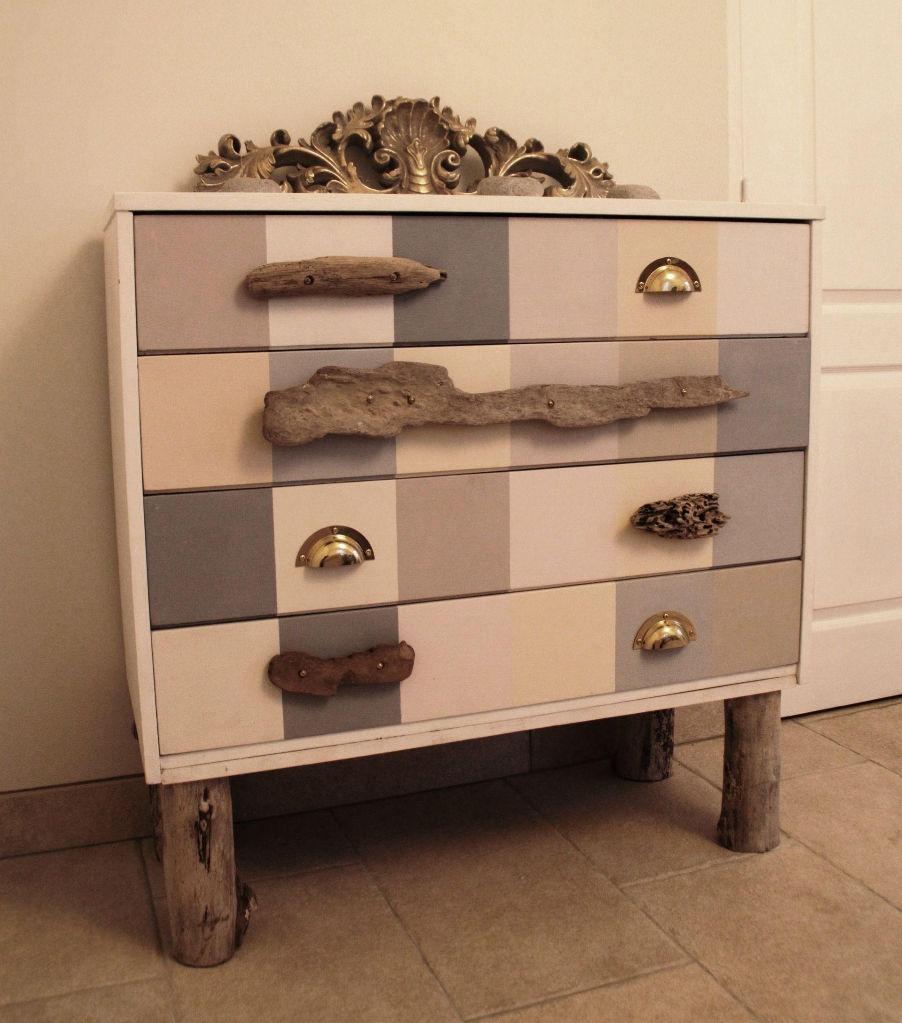transformer une commode dans l 39 esprit bord de mer chic diy relooking mobilier cr er ma d co. Black Bedroom Furniture Sets. Home Design Ideas