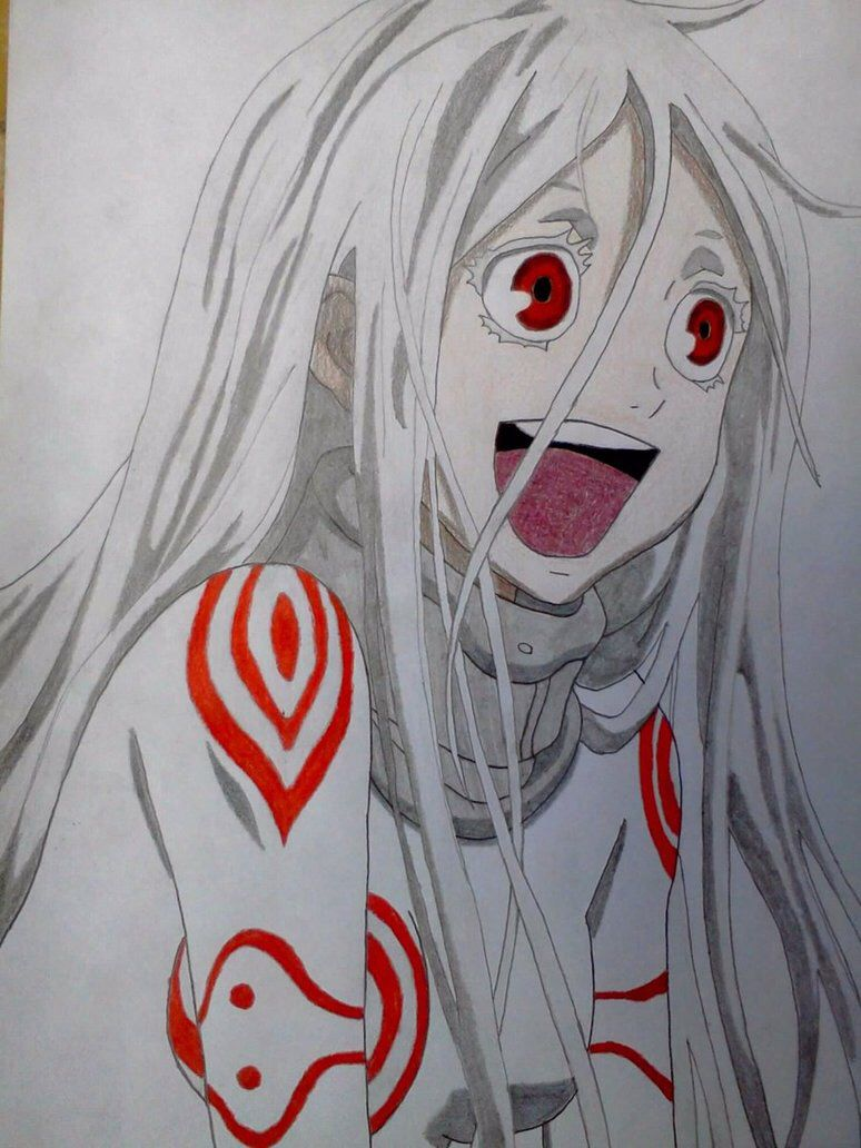 Shiro Deadman Wonderland drawing