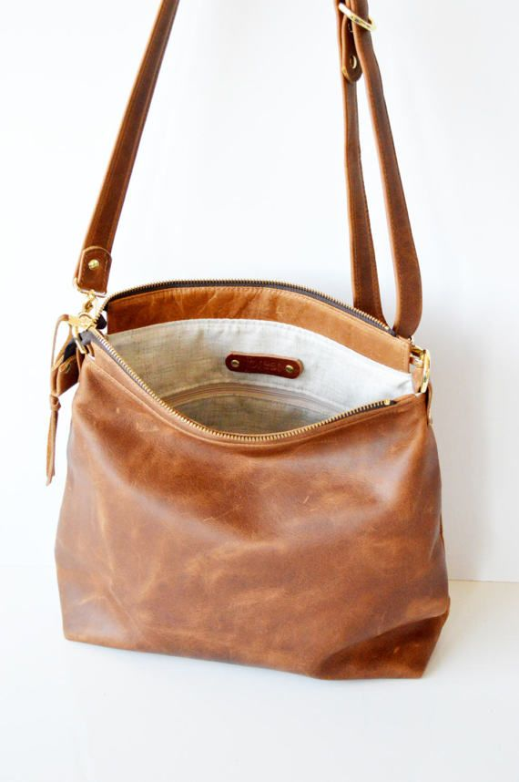 Leather Hobo Bag Crossbody Soft Handbags