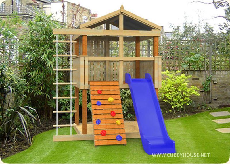 Turbo Tower Cubbyhouse, Australian Made, Outdoor Playground Equipment, Diy  Cubby House Kits · Backyard KidsBackyard FortBackyard ...