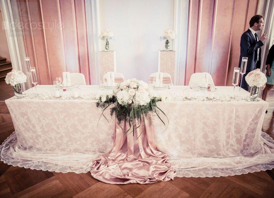 Vintage Wedding Hochzeitsdeko altrosa blush www