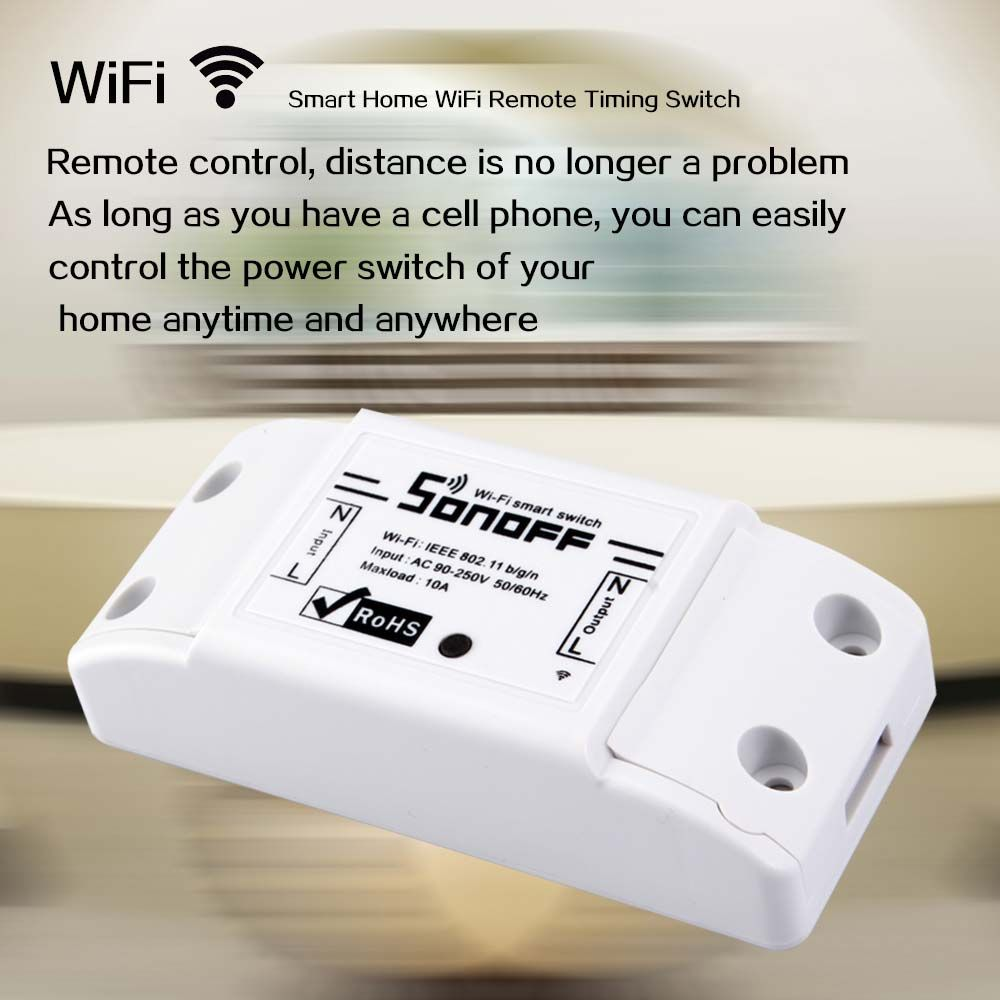 Smart Home WiFi Remote Timing Switch | Wifi, Remote and Android