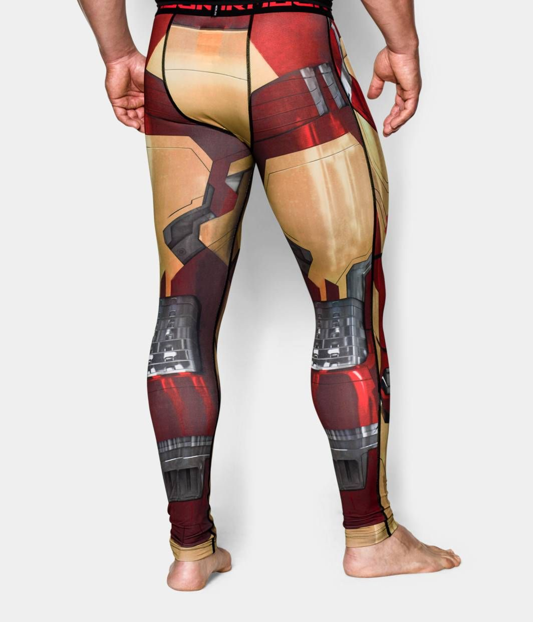 a7ccdb4b02ad9a Men's Under Armour® Alter Ego Iron Man Compression Leggings | Under Armour  US