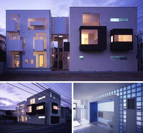 Japanese Home Cubes 10 Neat Modern Box House Designs Japanese House Box House Design House Design