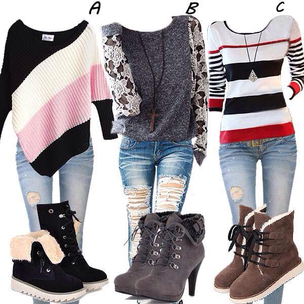 Me encanta estos outfit's