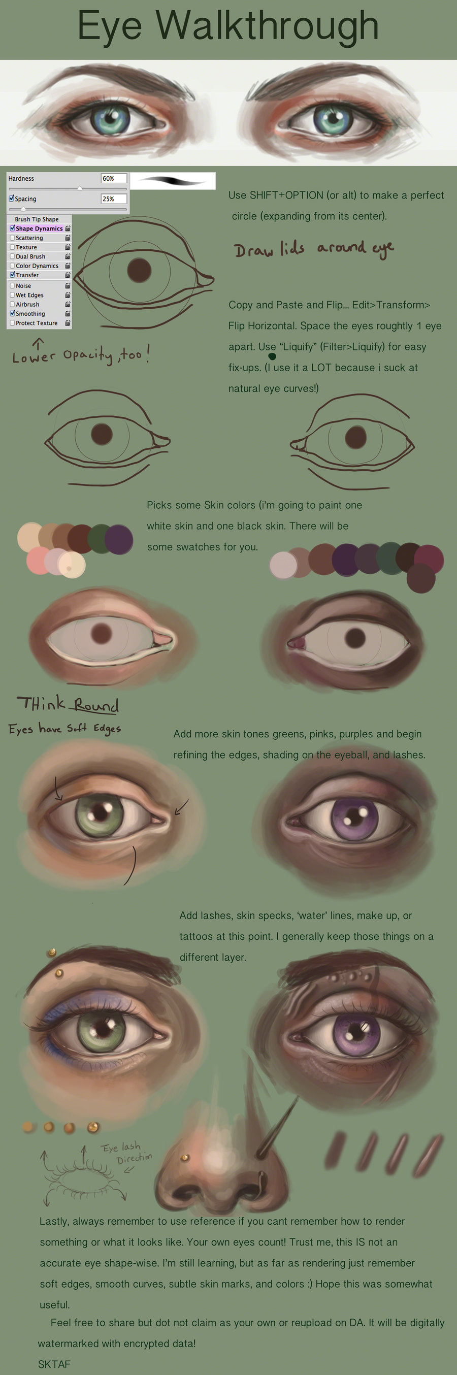 Simple Eye Walkthrough By Mmwoodcock Draw Human Eyes In 2018 Diagram The Structure Of Anatomy