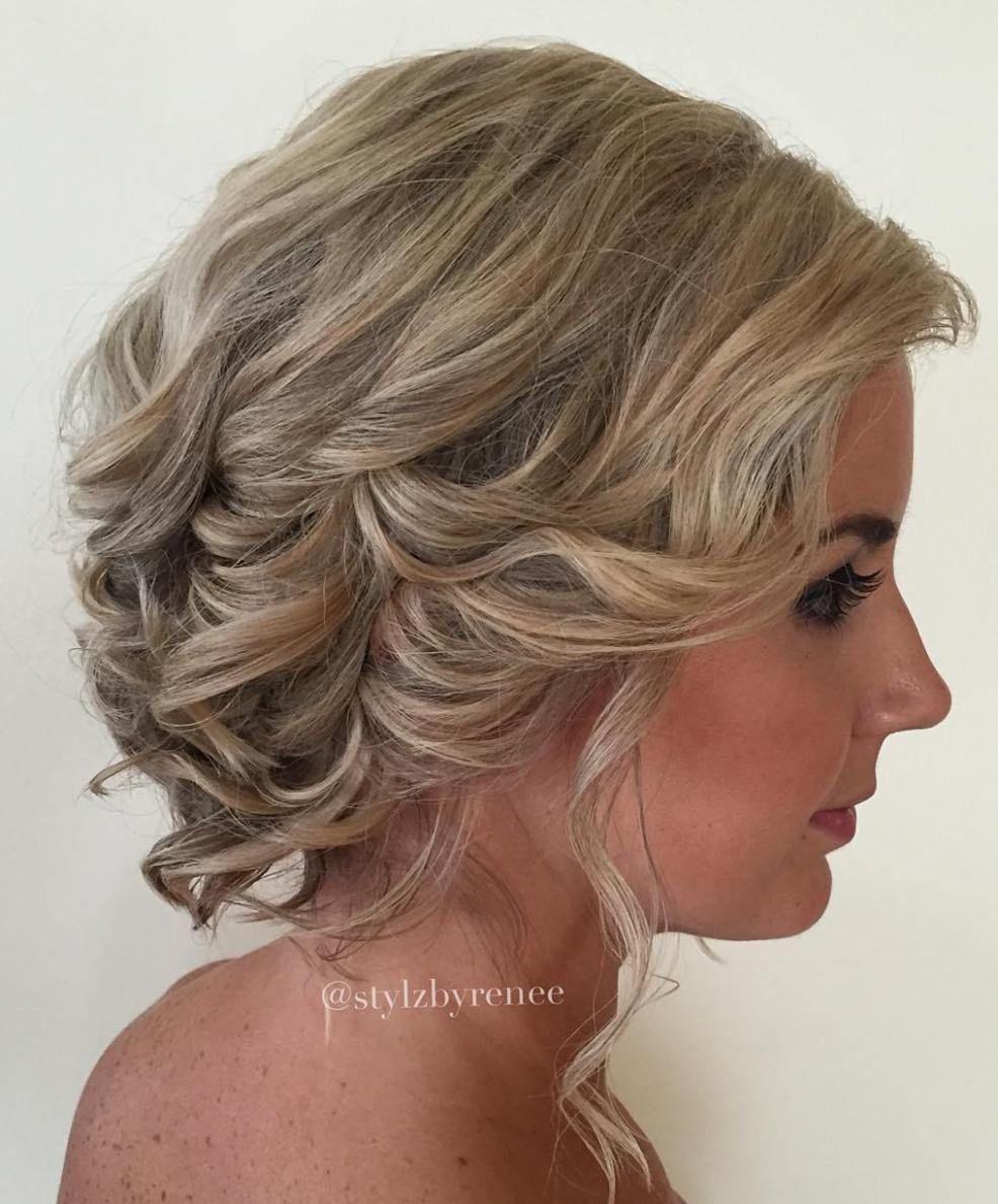 40 Best Short Wedding Hairstyles That Make You Say Wow Short Wedding Hair Hair Styles Short Hair Updo