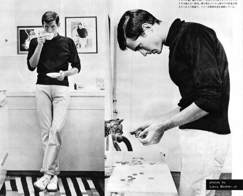 Anthony Perkins doing fashion right.