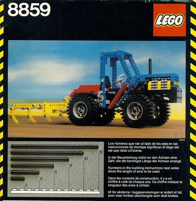 8859 1 Tractor Stuff I Had As A Kid Vintage Lego Lego Lego Sets