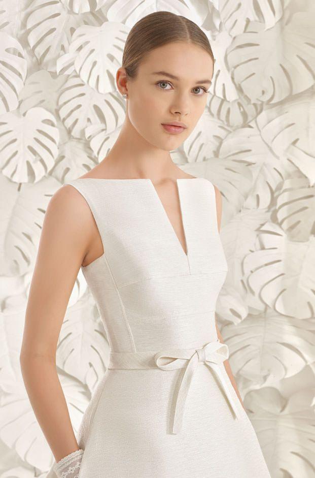 Brautkleider von Rosa Clara  Model Neon  Hochzeitskleid  Vestidos para chicas Vestidos sport