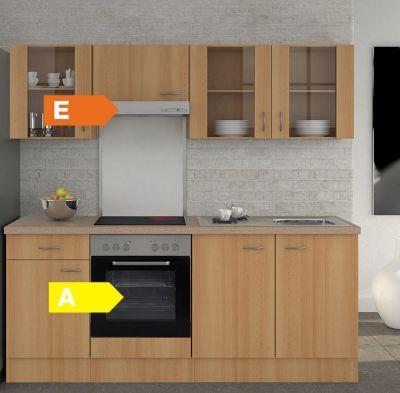 Flex-Well Küchenzeile 210 cm G-210-1601-003 Nano Jetzt bestellen - küche mit küchenblock