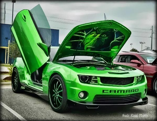 Quot The Grinch Quot Camaro Just Plain Cute Cars Motorcycles