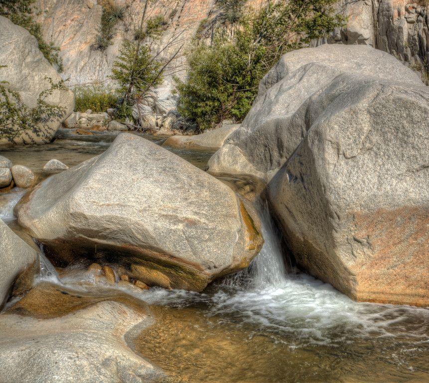 Boulders n Falls Santa Ana River