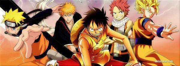 Naruto Luffy Natsu Ichigo Naruto Natsu Ichigo Luffy Goku Bleach Anime Bleach Characters Bleach Anime