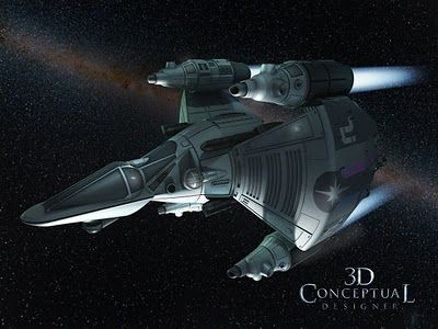 The Last Starfighter Gunstar | 3DconceptualdesignerBlog: Project Review: The Last Starfighter 25th