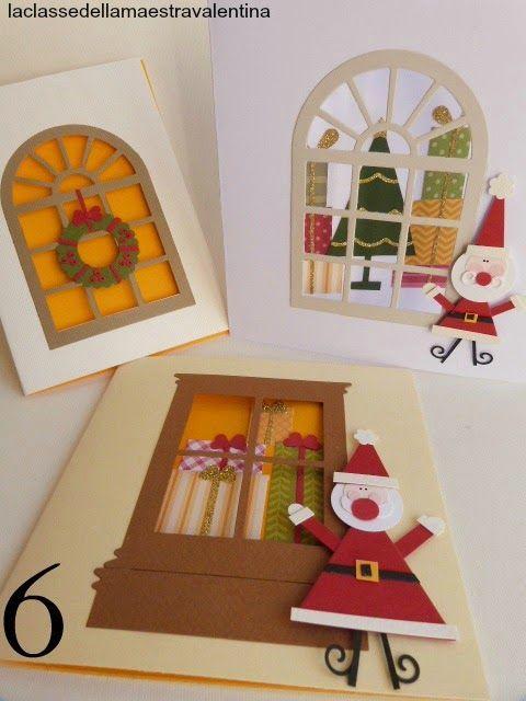La classe della maestra valentina biglietti finestre n 6 valentina xmas cards christmas - Eliminare finestre pop up ...