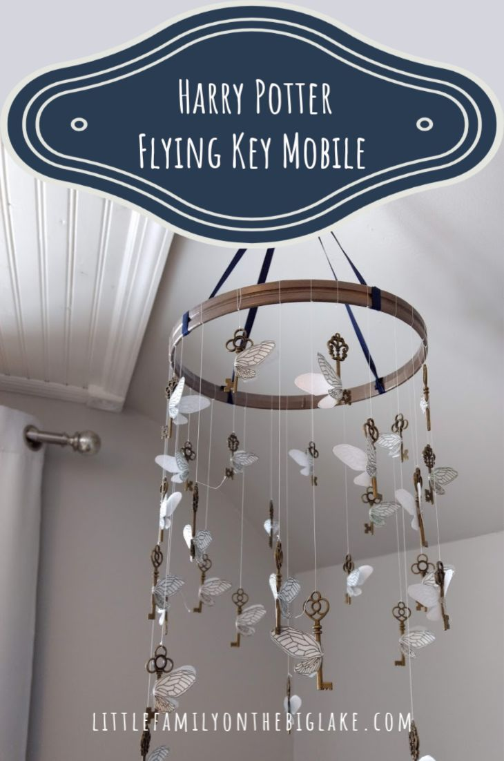 Photo of Harry Potter Flying Key Mobile – Children's Blog