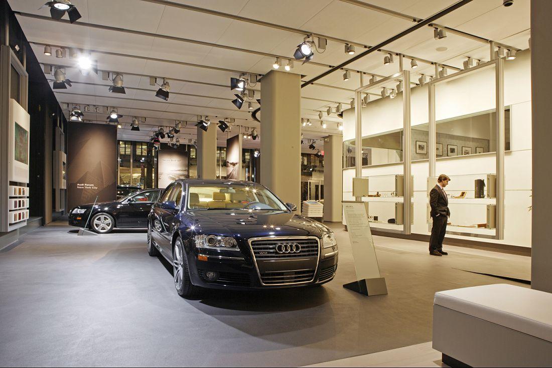 ERCO Audi Forum Manhattan Automotive Pinterest Manhattan - Audi of manhattan