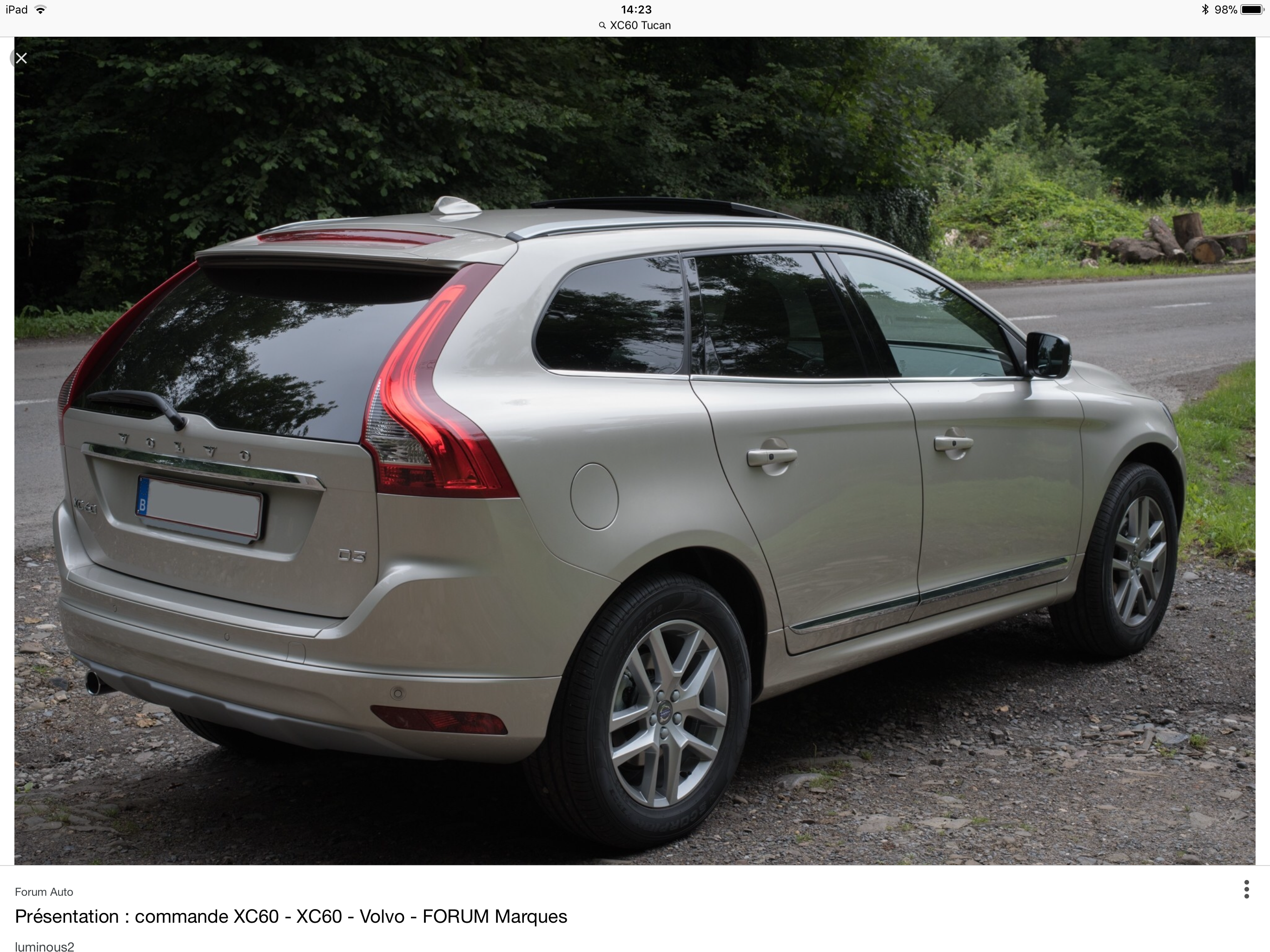 Pin by Adam Kowalczyk on Cars (With images) Volvo xc60