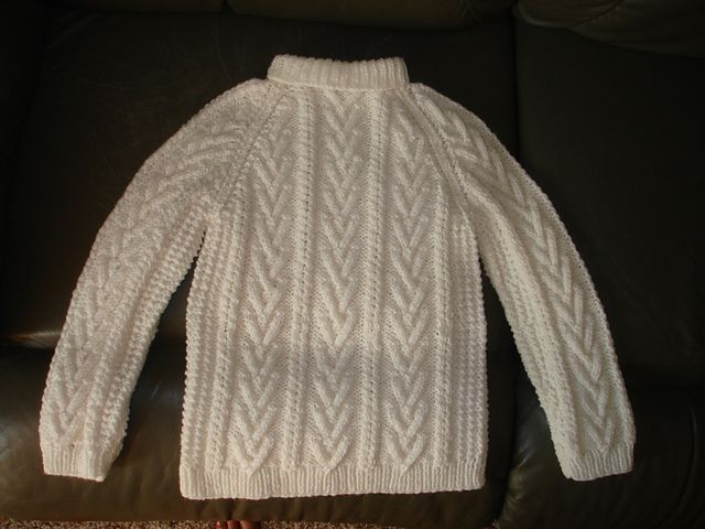 Ravelry Childs Fisherman Knit Sweaterfree Pattern By Yarn Lovers