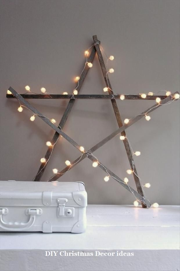 25 Creative DIY Ideas For A Rustic Festive Decor 1 DIY Christmas