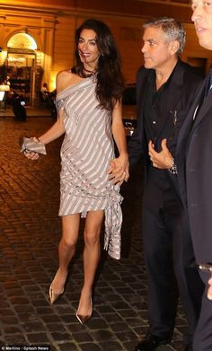 Amal Clooney in Monse