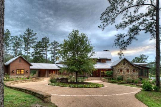 Texas Ranch House Contemporary Texas Ranch House