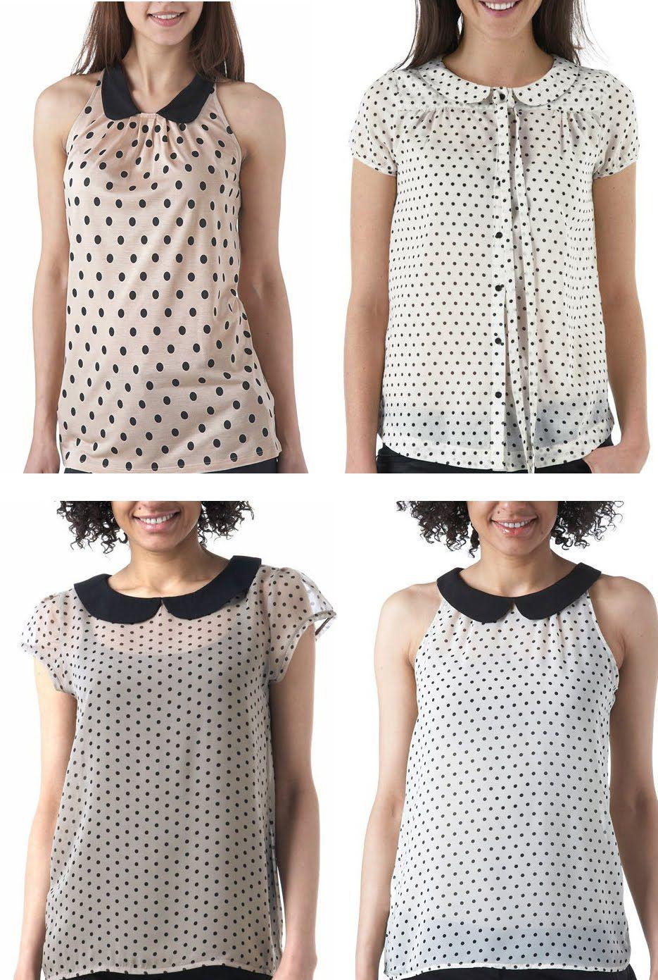 0bb724c33 MODELO BLUSA DE BOLITAS - Imagui | Outfits for work en 2019 | Blusas ...