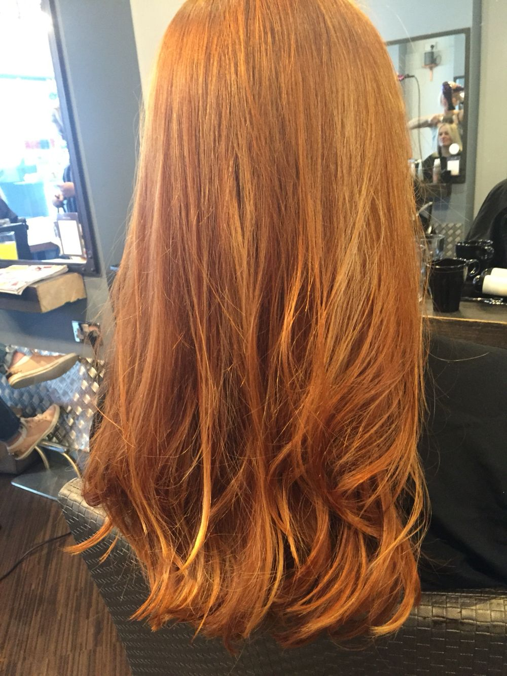 Copper Hair Rose Gold Hair Blonde Highlights Ginger Hair