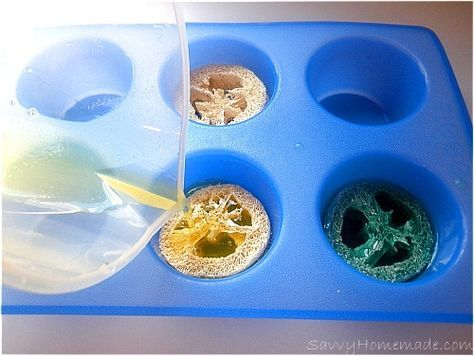 How To Make Loofah Soap