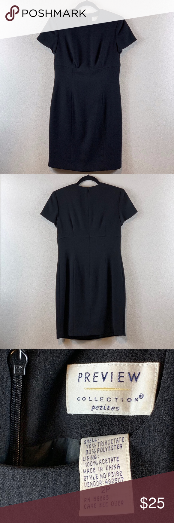 PREVIEW Little Black Dress  Preview Collection Dress