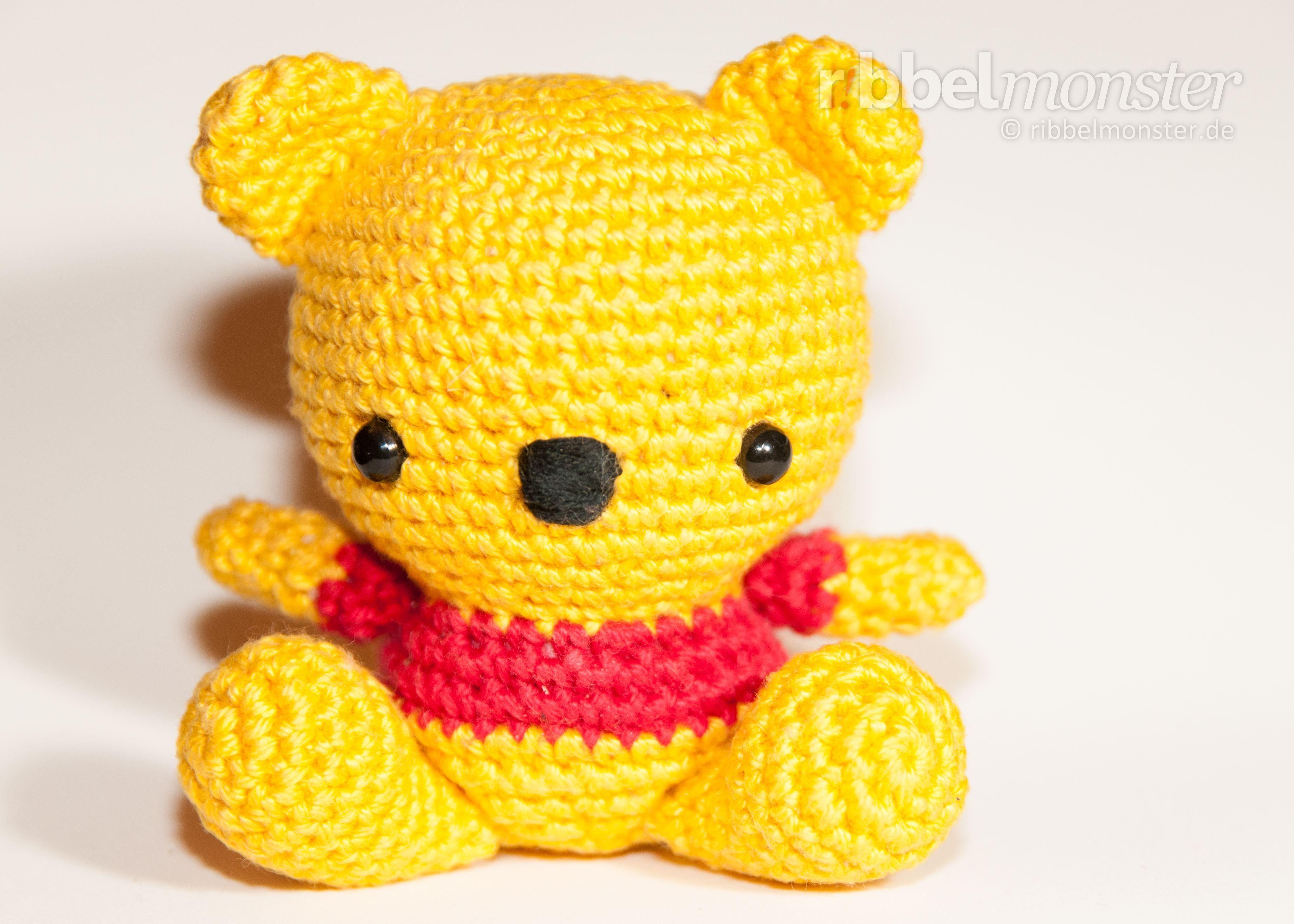 Amigurumi Baby Winnie Puuh häkeln Anleitung Häkelanleitung | Winnie ...