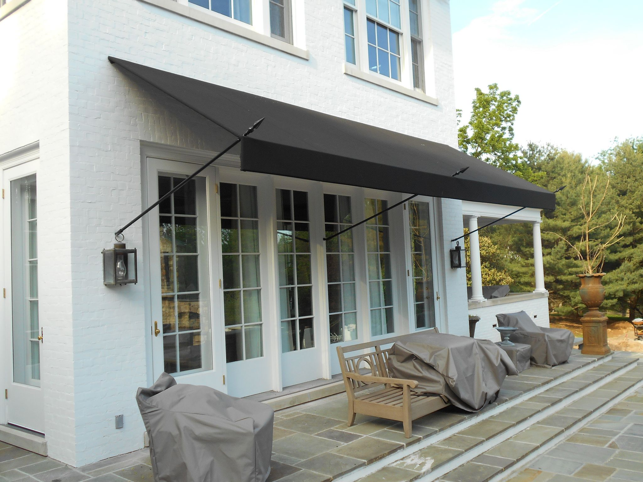 Patio Awning Side Panels Home Design Ideas and