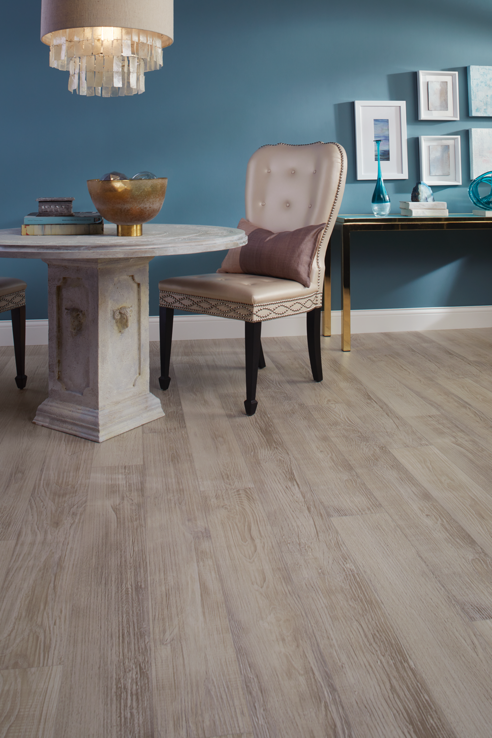 Wood Floor And Wall Colors Sand Castle Chestnut In 2019 Naturetek Grey Flooring Blue
