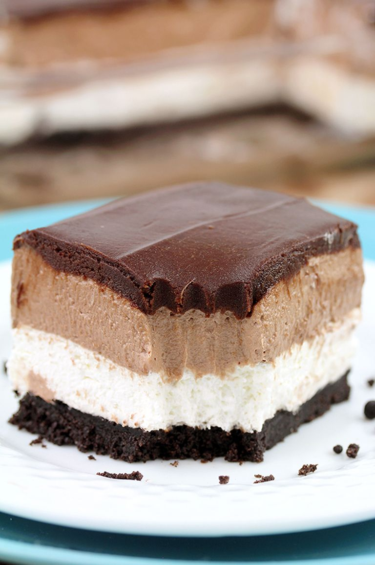 No Bake Nutella Cheesecake Bars images