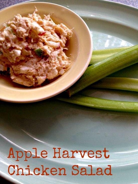Apple Harvest Chicken Salad - #recipes