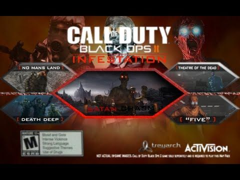 Black Ops 2 - Zombies DLC Map Pack IDEA!