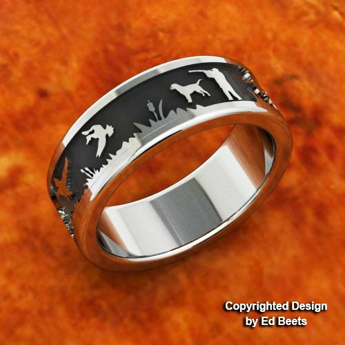 duck band rings duck wedding bands jewelry ring