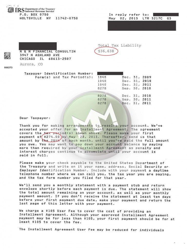 Irs installment agreement aurora co 80011 mmfinancial irs installment agreement aurora co 80011 mmfinancial 8664875624 platinumwayz