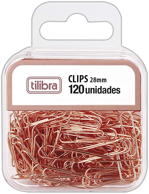 Clips Or RS, Tilibra, Multicor, 28 mm