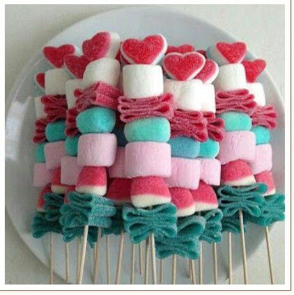 Pin de Michiko Hinolan en Candy bars Pinterest Mesa de dulces